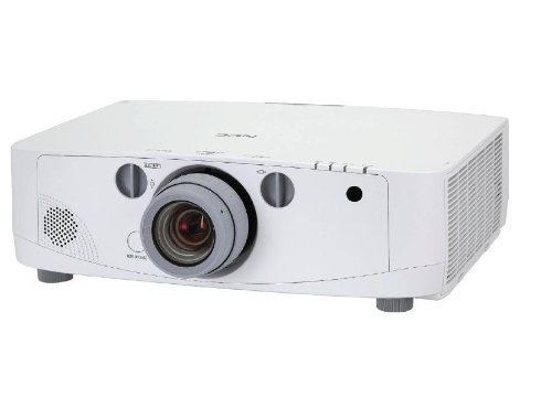 NEC NP-PA500U - LCD Projector - 3D Ready - 5000 ANSI lumens - WUXGA (1920 x 1200) - Widescreen - High Definition 1080p - no Lens