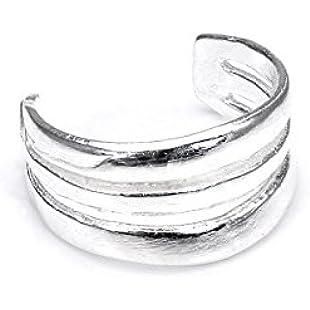 Sterling Silver 3 Wire Ear Cuff