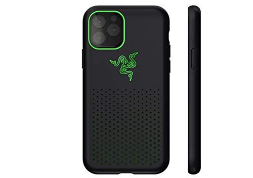 Razer Arctech Pro Black THS Edition - für Apple iPhone 11 Pro (Schutzhülle mit Thermaphene Perfürmance Technologie, zertifizierter Schutz bei Stürzen, verbesserte Smartphone Kühlung), Schwarz