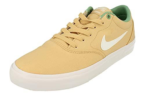 Nike SB Charge Cnvs Uomo Trainers CD6279 Sneakers Scarpe (UK 10 US 11 EU 45, Sesame White Healing Jade 203)