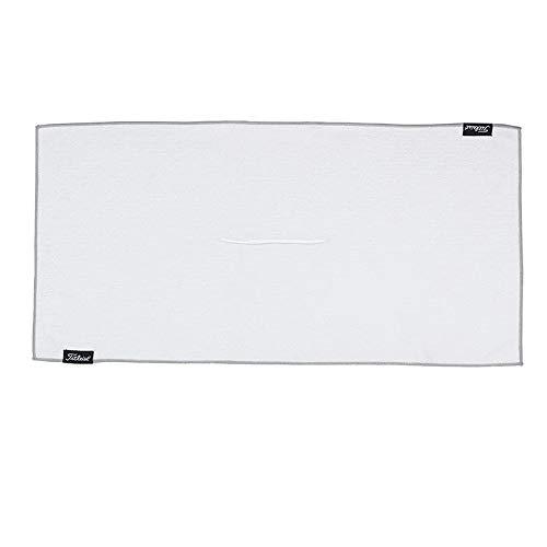 "Titleist Players Microfiber Golf Towel, White, 16"" x 32"""