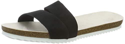 ESPRIT Damen Kendal Slide Pantoletten, Schwarz (Black 001), 37 EU