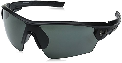 Under Armour Rival Shield Sunglasses White / Gray Lens One Size Fits All