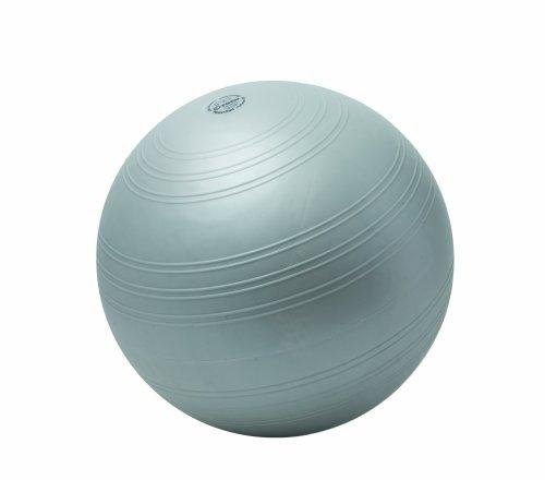 Togu Gymnastikball Powerball Challenge ABS (Berstsicher), silber, 55 - 65 cm