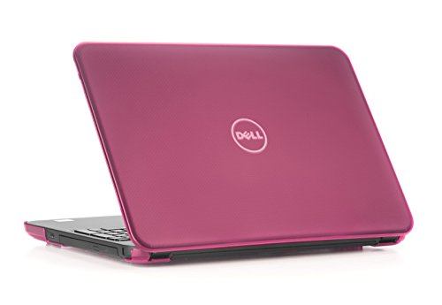mCover Hard Shell Case for 15.6' Dell Inspiron 15 5565/5567 Laptop (NOT Compatible with Other Dell Inspiron 5000 Series Models) (Pink)
