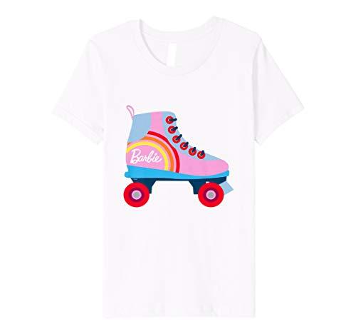 Kinder Barbie T-Shirt, Mädchen, bunt, Rollschu, viele Größen+Farben