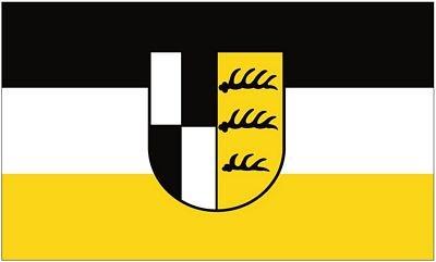 Fahne / Flagge Zollernalbkreis 90 x 150 cm