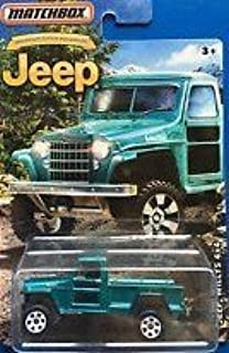 MATCHBOX LIMITED EDITION JEEP ANNIVERSARY EDITION JEEP WILLYS 4X4 DIE-CAST