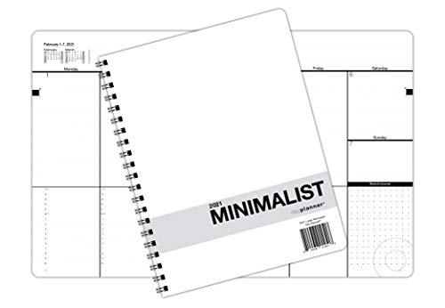 Minimalist Dated Calendar Day Planner