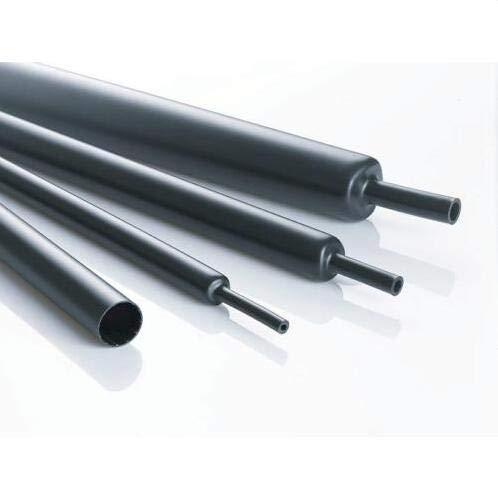 MASUNN 10Mm 200Mm/500Mm/1M/2M/3M/5M Tubo De Encogimiento De Calor Negro Cable De Coche...