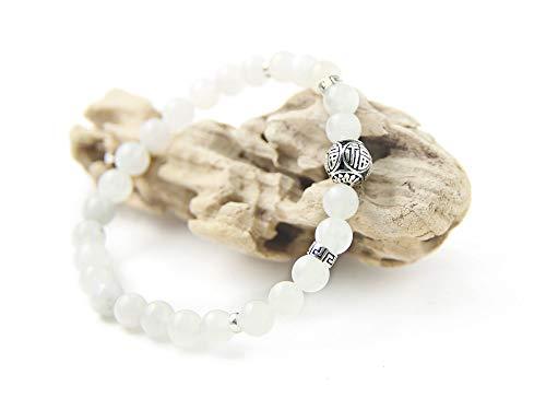 Le bracelet en pierre de lune naturelle pour fans de méditation