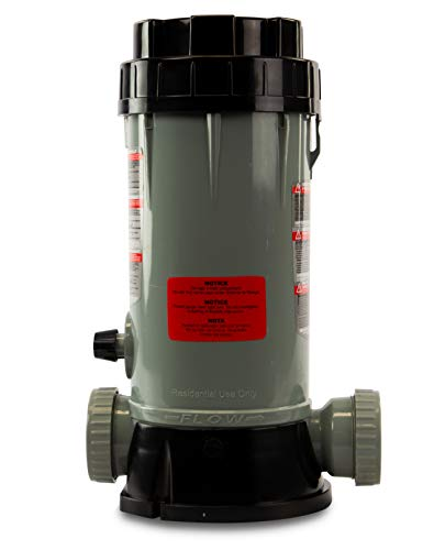 Rx Clear Automatic Chlorinator | for In-ground Swimming Pools | Off-line Chemical Chlorine Feeder | Holds Up to 9 Pounds of Slow Dissolving Chlorine Tablets