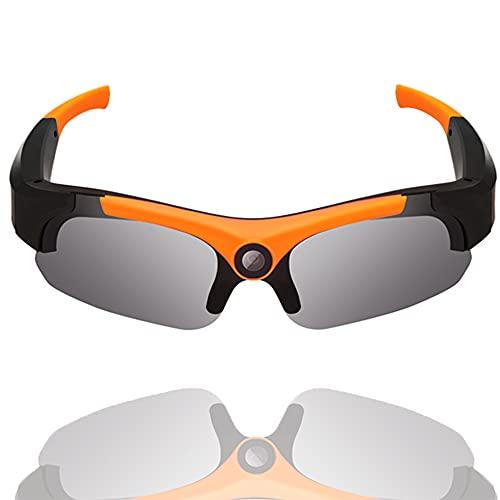 Video Camera Smart Glasses Polarized UV400 Lenses 1080P Hidden Sport Sunglasses High-Definition Cycling Camera Glasses