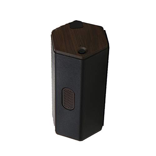 ZZBB Filtrete Luftreiniger Batterie Luftreiniger Ozongenerator Desodorieren Formaldehyd Luft Wiederaufladbarer Luftfilter meditieren Luft für Autoluftreiniger,Black