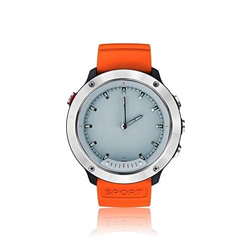 SSeir SmartWatch Transparent LCD Pantalla de Pantalla Digital 50M Reloj Inteligente Impermeable, recordatorio de información de Apoyo/monitoreo del sueño para Hombres y Mujeres