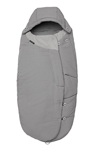 Maxi-Cosi Fußsack, Universal Wintersack von Maxi-Cosi, passend für fast alle Kinderwagen und Buggys, concrete grey