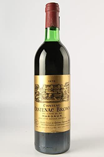 CHÂTEAU CANTENAC BROWN 1978-3ème Cru Classé