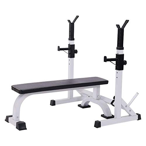 Household Adjustable Squat Rack Multifunctional Weight Bench One-piece Bench Press Squat Rack And Weight Bench Home FitnessEquipment