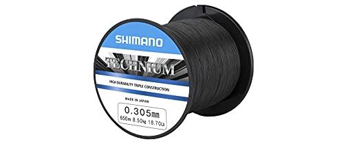 SHIMANO Hilos de Pesca Technium 0.355 mm 600 m Spinning Surfcasting
