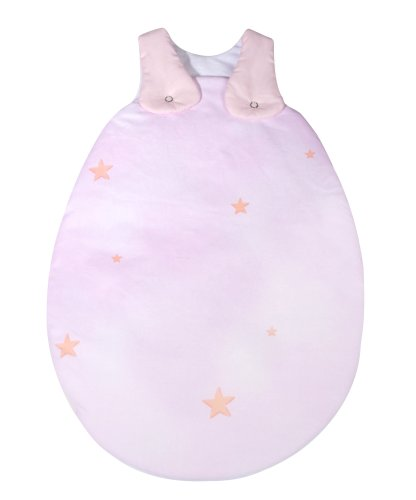 Julius Zöllner 90801 1581 2 - Sac de couchage bébé, 62/68 - Motif ourson - rose