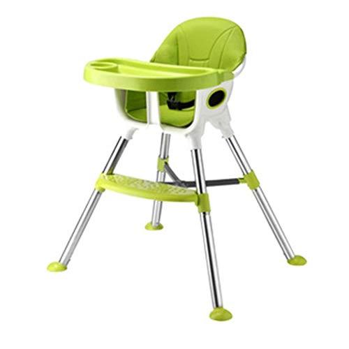 Yingeryaoyi Baby schommelstoel Baby Eetstoel, Multi-Functie schommelstoel, Draagbare Hoogte Verstelbaar, PU Kussen voor 0-4 Jaar Oude Baby schommelstoel