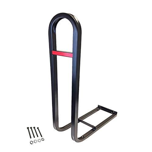 Golf Cart Rear Seat Safety Grab Bar fits EZGO, Club Car, Yamaha + Bonus Reflector