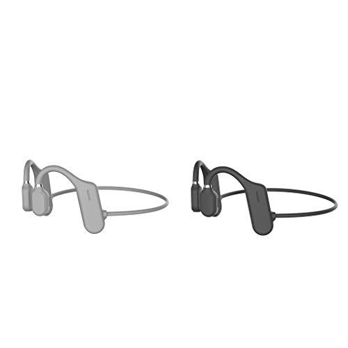 2 Pairs DYY-1 Wireless Bluetooth Bone Conduction Headset Sports...