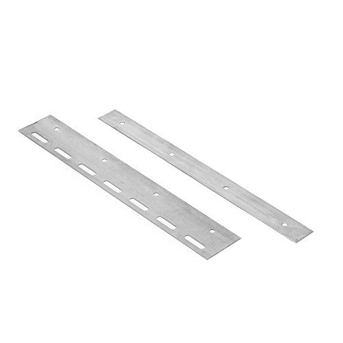 Montageplaat voor lamellen lamellengordijn PVC-strookgordijn lengte 30cm