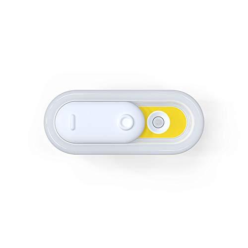 Smart Body Sensor LED lámpara armario pared noche luz USB carga dormitorio dormitorio dormitorio