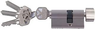 Andersen Storm Door Key Cylinder Lock in Nickel Finish (Kwikset Brand)