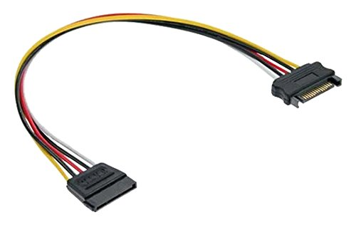 InLine 29651A Strom Verlängerung intern, SATA Stecker / Buchse, 0,3m