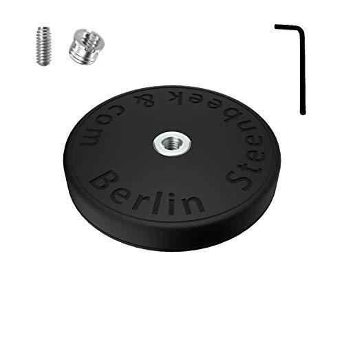 Magnetische Halterung gummiert 66mm 1/4