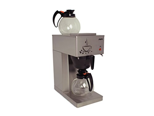 Saro 317-2090 Kaffeemaschine Modell Eco, 1,8 L, 2000 W, Kunststoff, 1.8 liters, Grau