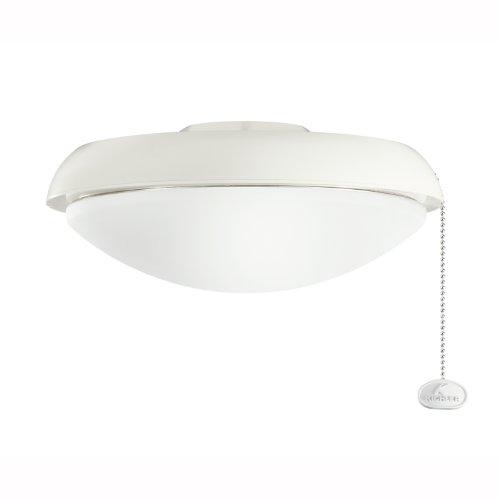 Kichler 380910WH Climates Slim Profile Fixture, White