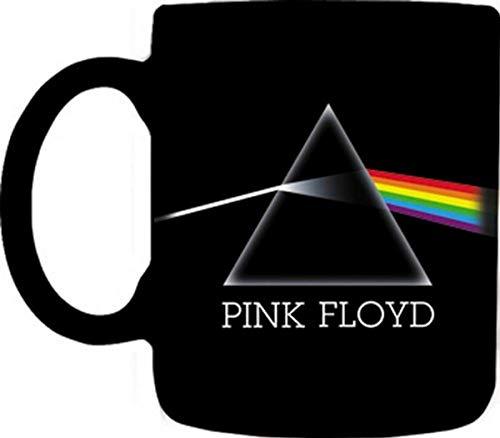 Canecas Pink Floyd-Dark Side of Moon Caneca desenhada, 340 g, preta