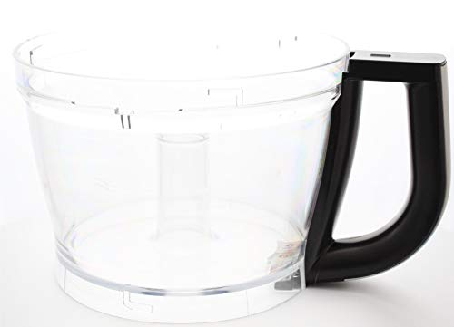 Vervangende zwarte onyxkom (W10592809) voor KitchenAid 13-cup keukenmachine (modellen vanaf 5KFP13 en KFP13)