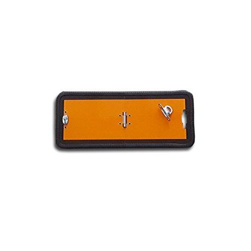 ADR waarschuwingsbord inklapbaar 300x120 mm waarschuwingsbord bord gevaarlijke goederen oranje GGVS