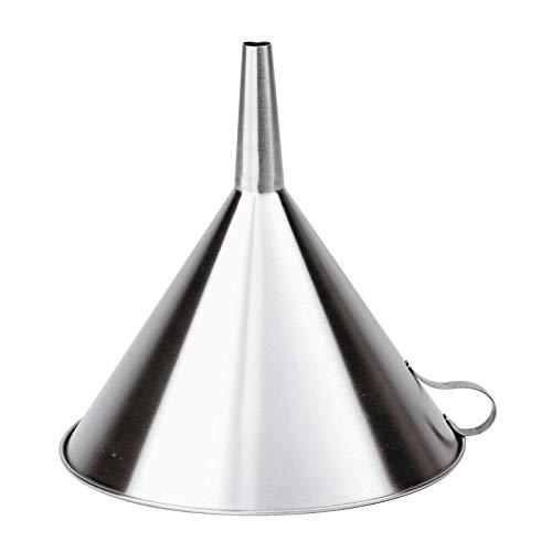 PADERNO 42562-25 - Embudo (25 cm, Acero Inoxidable)