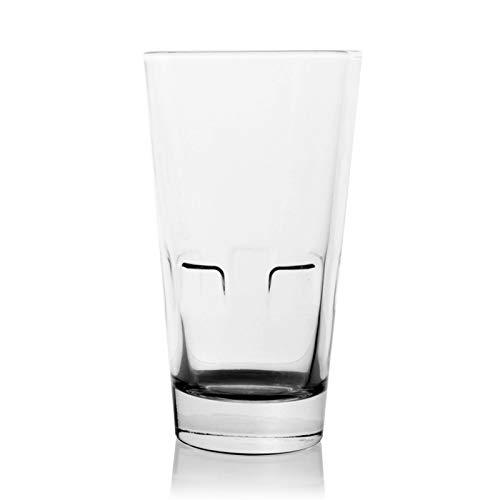 Weinglas Einfachheit Stapelbares Cocktailglas 355ml Bierglas Transparente Saftschale Glasschale Wasser Cup Haushalt 5.5x14.5cm MUMUJIN
