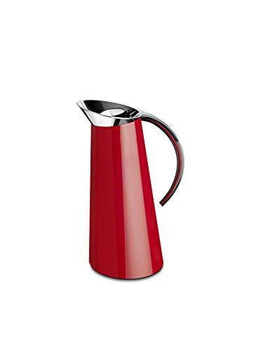 BUGATTI GL3U-02194 Glamour Table Carafe Thermique ABS/Verre Rouge 15 x 15 x 32 cm