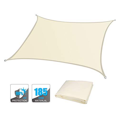 OZYN Toldo Vela, Protección Rayos UV 95% Resistente Y Transpirable Vela Solar (Color : A, Size : 2x1.8m)