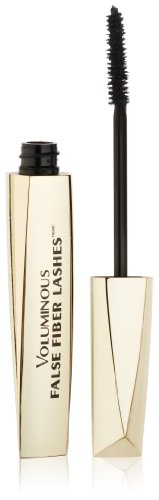 L'Oréal Paris Voluminous False Fiber Lashes Mascara, Black, 0.34 fl. oz.