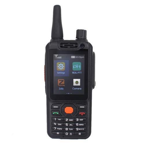ONGTHINGCAM Worldwide Talk 4G LTE Red Smartphone Radio bidireccional Walkie Talkie G25, cámaras duales con Doble Pantalla táctil, aplicación REALPTT o Plataforma de conversación ZELLO