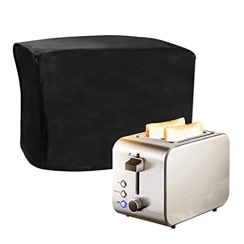 Aosong Cubierta para máquina de pan de 2820.520.5 cm, cubierta de cuero para máquina de pan, cubierta antipolvo para electrodomésticos para tostadora, mantiene tu panificadora lejos de salpicaduras