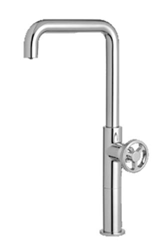 EFFEPI Monocomando lavabo Alto Cromato Senza Scarico Serie OT58