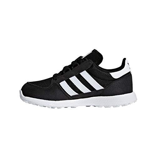 Adidas Forest Grove C, Zapatillas de Deporte Niños Unisex niño, Negro (Negbás/Ftwbla/Negbás 000), 28 EU