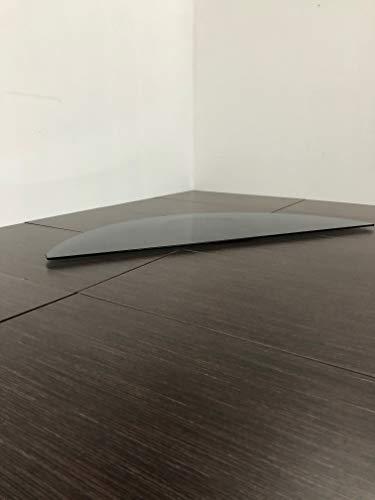 Tecnidea Base giratoria para televisión, GK 100, negro ahumado, dimensiones max. de la parte frontal 100 x 38 cm, carga máxima: 40 kg