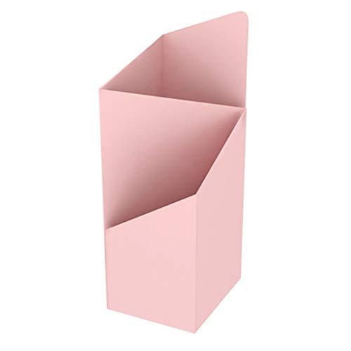 Portaombrelli Quadrato, Metallo Antiruggine, può Contenere 6-8 Ombrelli, Adatto per Corridoio, Ingresso, Ufficio, 20x25x60cm, 4 Colori (Color : Pink)