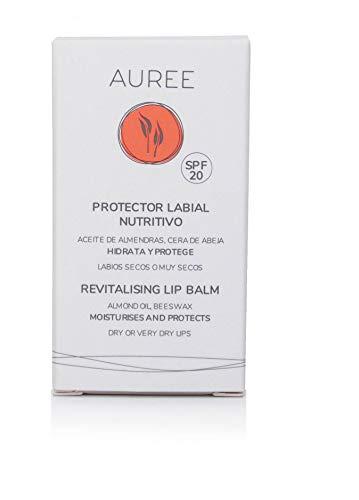 Auree Protector labial Nutritivo SPF20 sin conservantes, eco