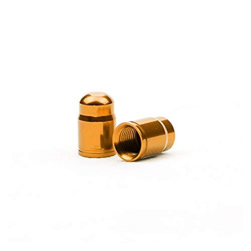 Tapa de neumático a prueba de polvo, 10pcs / Válvula de la válvula de bicicleta Aleación de aluminio Francés / Americana Bicicleta Tapa de válvula de neumático Tapa Protector de la cubierta de la rued